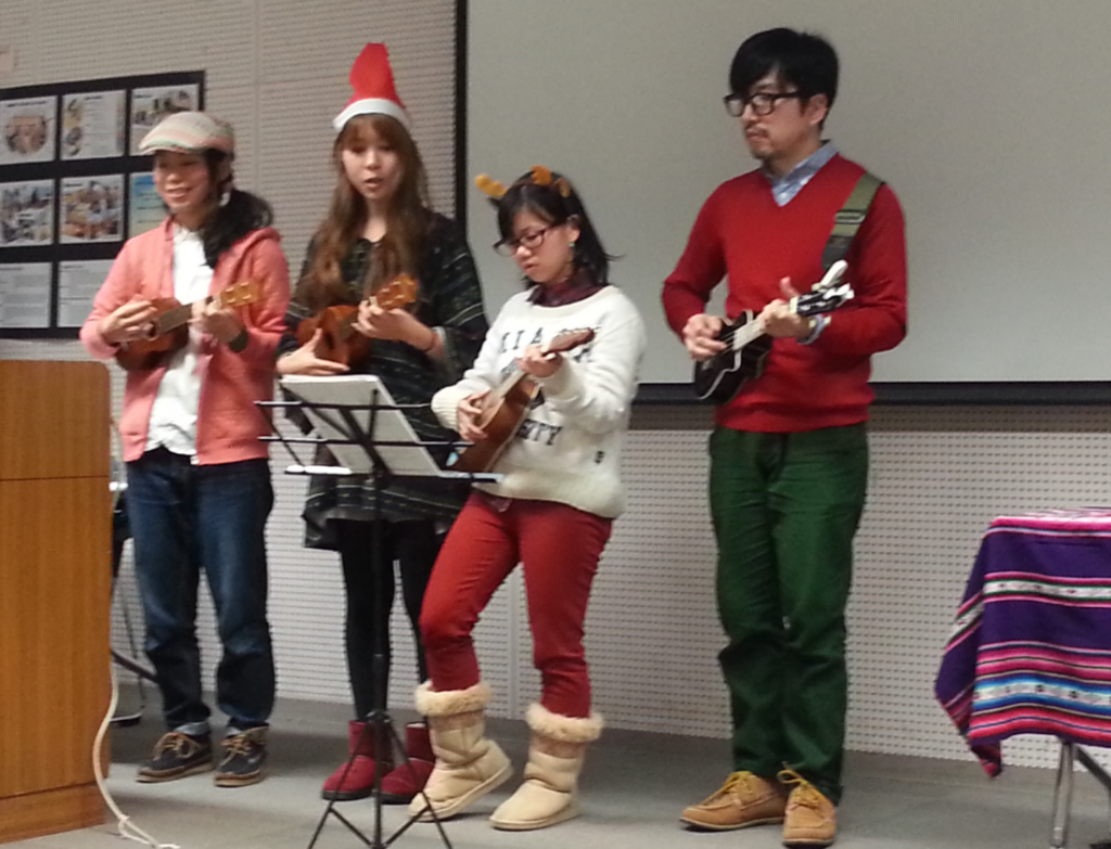 Christmas concert at Student Fair Dec. 2014